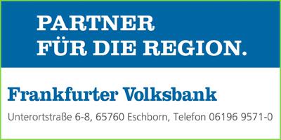 Frankfurter Volksbank  - Sponsor und Veranstalter beim Benefiz-Fußballturnier Eschborn Cup